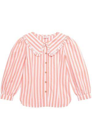 Morley Narcis striped cotton shirt