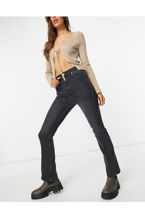 AllSaints Ciara high waist bootcut jeans in washed