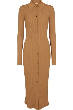 DODO BAR OR Ribbed-knit midi dress