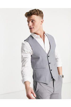 ASOS Men Waistcoats - Super skinny waistcoat in mid
