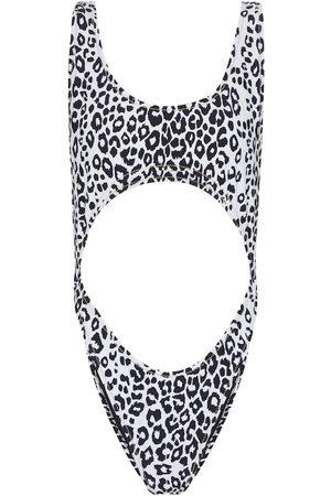 Reina Olga Women Swimsuits - Exclusive to Mytheresa – Marina leopard-print swimsuit