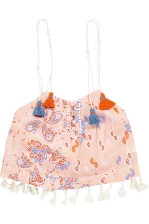POUPETTE ST BARTH Girls Tank Tops - Exclusive to Mytheresa – Mara printed tank top