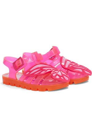 SOPHIA WEBSTER Butterfly rubber sandals