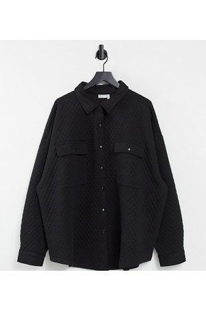 ASOS ASOS DESIGN Curve oversized quilted shacket in