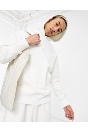 ASOS Heavyweight oversized hoodie in soft