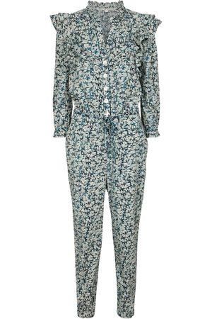 VERONICA BEARD Women Jumpsuits - Tanay printed cotton jumpsuit