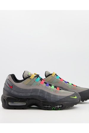 Nike Men Sneakers - Air Max 95 SE trainers in light charcoal