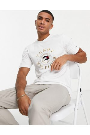 Tommy Hilfiger Icon coin logo embroidery t-shirt in