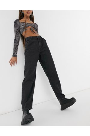 Noisy May Sella balloon leg jeans in washed