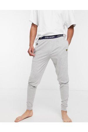 Lyle & Scott Men Loungewear - Cuffed lounge pants in