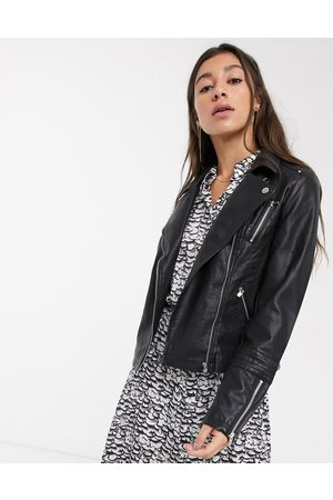 Only Women Leather Jackets - Faux leather jacket