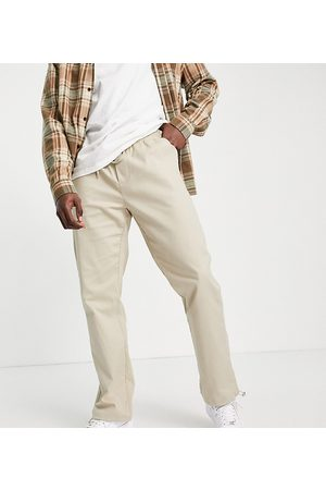Reclaimed Vintage Inspired woven jogger in neutral