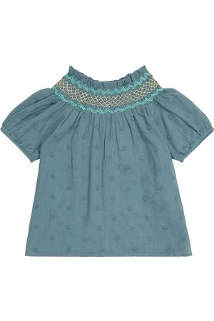 Louise Misha Girls Blouses - Tyra embroidered cotton blouse