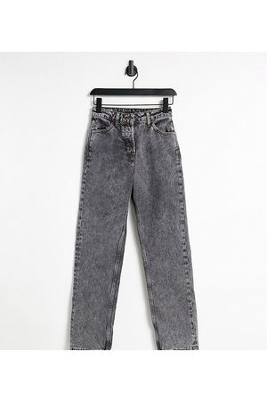 COLLUSION X005 90s straight leg jeans in acid wash