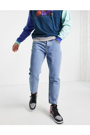 Only & Sons Regular tapered crop jeans in