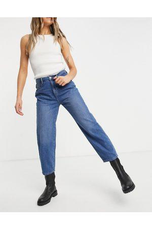 Noisy May Brooke dad jeans in medium wash
