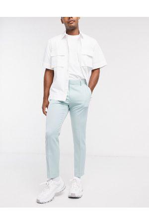 ASOS Smart skinny crop trousers in