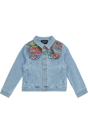 VERSACE Boys Denim Jackets - Medusa Amplified denim jacket