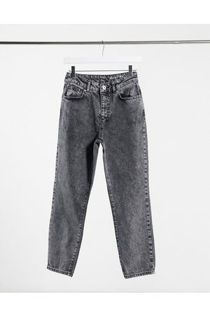 Noisy May Women Boyfriend - Premium Isobel mom jeans with high waist in