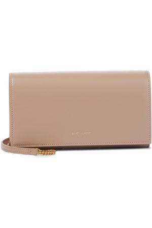 Saint Laurent Paris leather clutch