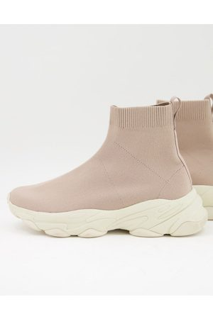 ASOS Knitted sock trainers in
