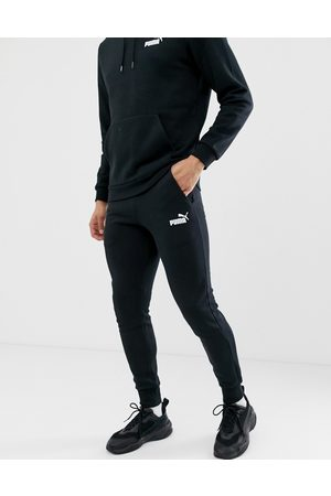 PUMA Essentials small logo slim joggers in