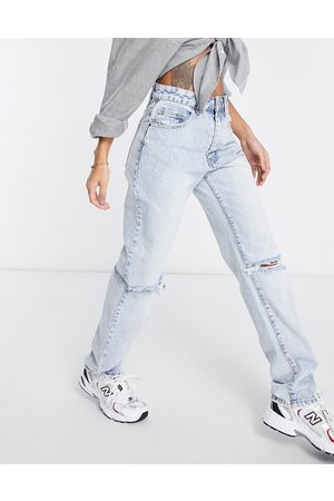Cotton On Loose straight leg jeans in light wash