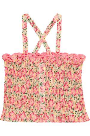 Louise Misha Malika floral cotton top