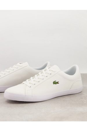 Lacoste Lerond Bl2 trainers in canvas