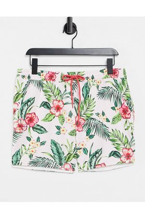 South Beach Men Swim Shorts - Swim shorts in floral