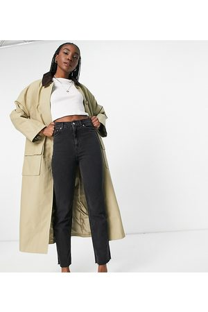 ASOS Tall cord collared boyfriend trench coat