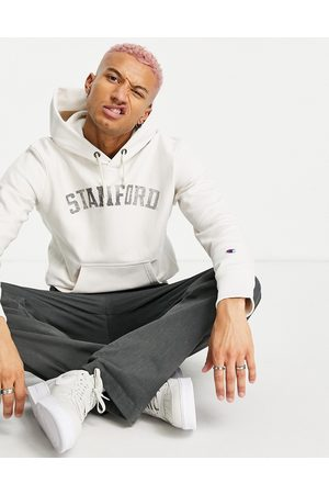 Champion Reverse Weave Stanford hoodie in off