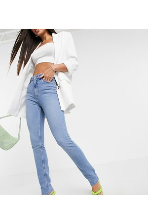 ASOS ASOS DESIGN Tall mid rise vintage 'skinny' jeans in pretty midwash