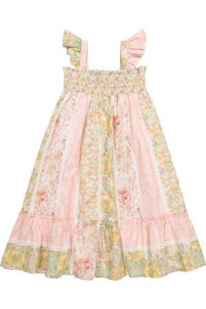 BONPOINT Girls Printed Dresses - Nestina floral cotton dress