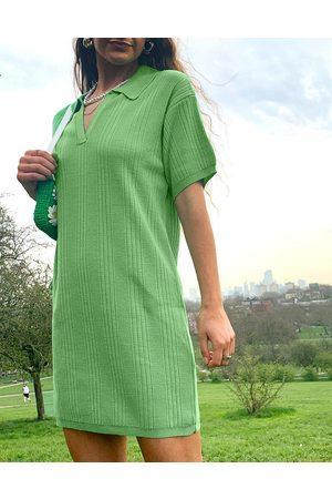 ASOS Mini dress with collar detail in