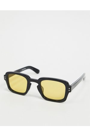 Spitfire Men Sunglasses - Cut Fifteen 70s square sunglasses in with yellow lens