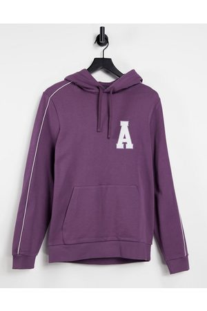 ASOS Oversized hoodie with logo chest print in