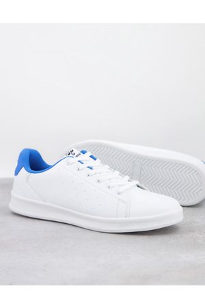 Hummel Hive Busan trainer in and blue