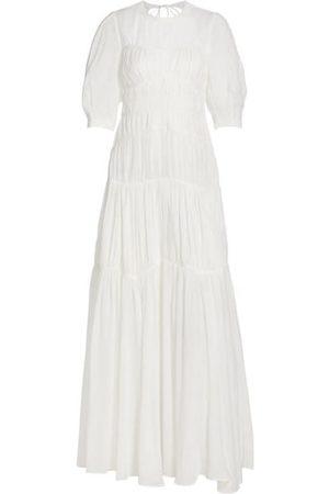 JONATHAN SIMKHAI Women Casual Dresses - Fira Ruched Maxi Dress