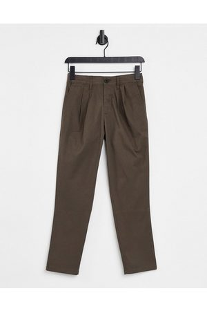 ASOS Cigarette fit ankle grazer chino trousers in