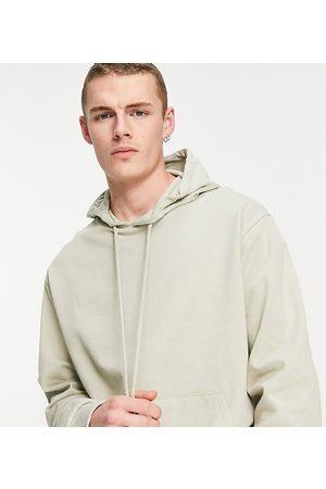 COLLUSION Men Sweatshirts - Hoodie in stone-Neutral