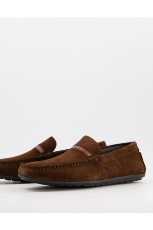 HUGO BOSS Dandy moccasin shoes in