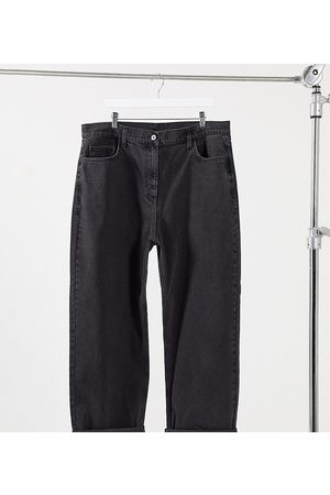 COLLUSION Plus x014 90s baggy dad jeans in washed
