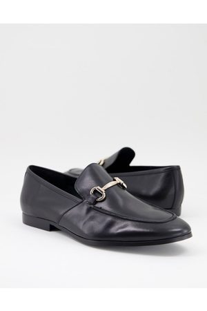 Office Lemming bar loafers in leather
