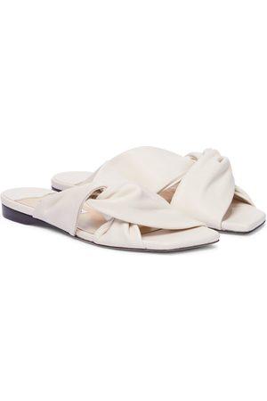 Jimmy Choo Narisa leather slides