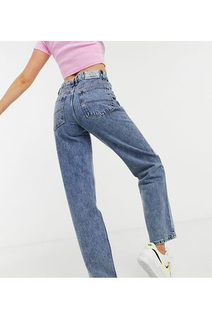 COLLUSION Women Boyfriend - X014 90s baggy dad jeans in washed