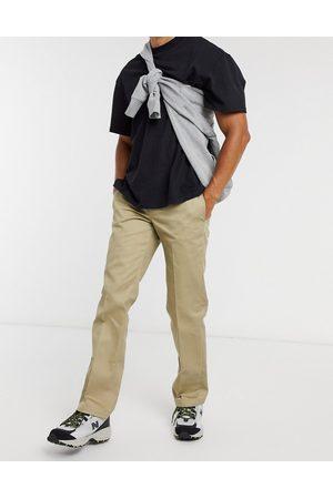 Dickies Men Chinos - 873 slim straight work trousers in khaki
