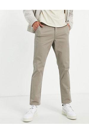New Look Slim chino trousers in dark