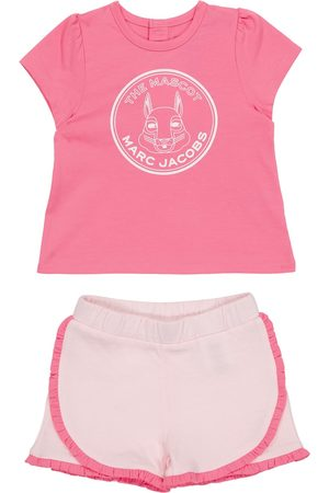 The Marc Jacobs Baby cotton T-shirt and shorts set