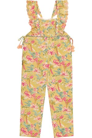 Louise Misha Talia floral cotton jumpsuit